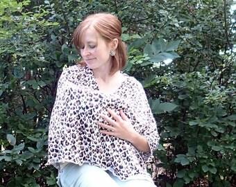 Stash & Go Full Coverage Nursing Cover - Leopard