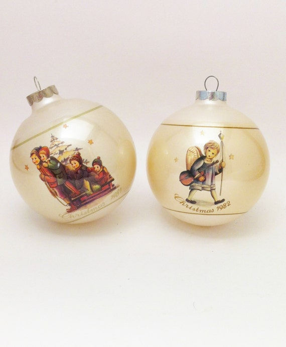 Hummel Christmas Tree Ornaments
