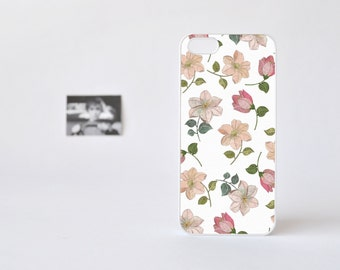 Floral iPhone 4 Case - Floral iPhone 4s Case - Flowers Print iPhone 5 Case - Floral iPhone Case - Accessories for iPhone 5s