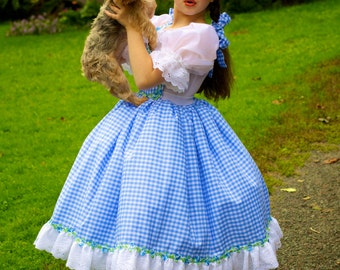 Dorothy Costume - Judy Garland Wizard of Oz Inspired Dress