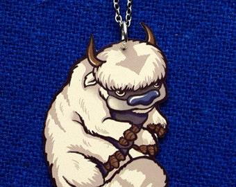 Appa Air Bison Avatar The Last Airbender Aang Cute Cartoon Anime Geeky  Pendant