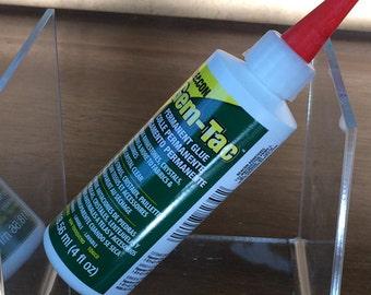 Beacon Gem-Tac 4 oz Bottle Permanent Glue Dries Crystal Clear for Embellising Rhinestone Crystals - Gem-Tac