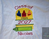 Back to School Class of First Day of School Custom Personalized Shirt - MADE TO ORDER