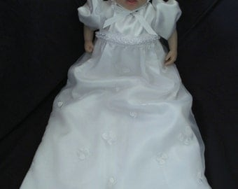 Baby Girl Christening Gown/ Baptism Dress  3-6M
