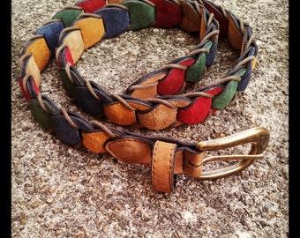 Bohemian Patchwork Belt