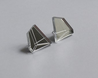 In.Line Earrings silver