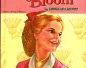 Rose In Bloom by Louisa May Alcott / 1955 Vintage Book / Whitman Classics