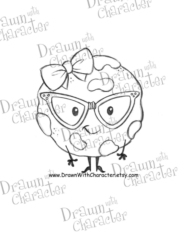 one smart cookie digital stamp kopykake image