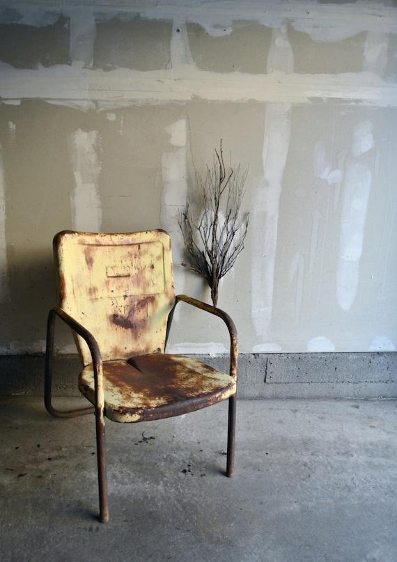 20 OFF Vintage Rustic Motel Chair Vintage Shell By PorkandBeanZ