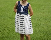 Girls dress- Anchor's Away Milly