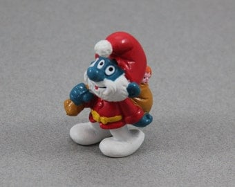 Popular items for papa smurf on etsy for Schlumpf weihnachten