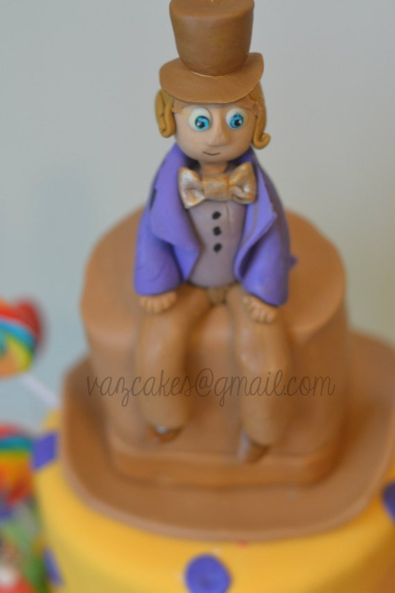 Charlie And The Chocolate Factory Cake Toppers