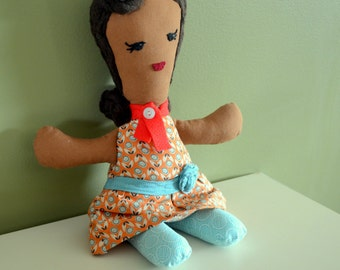Handmade cloth Kimberly doll