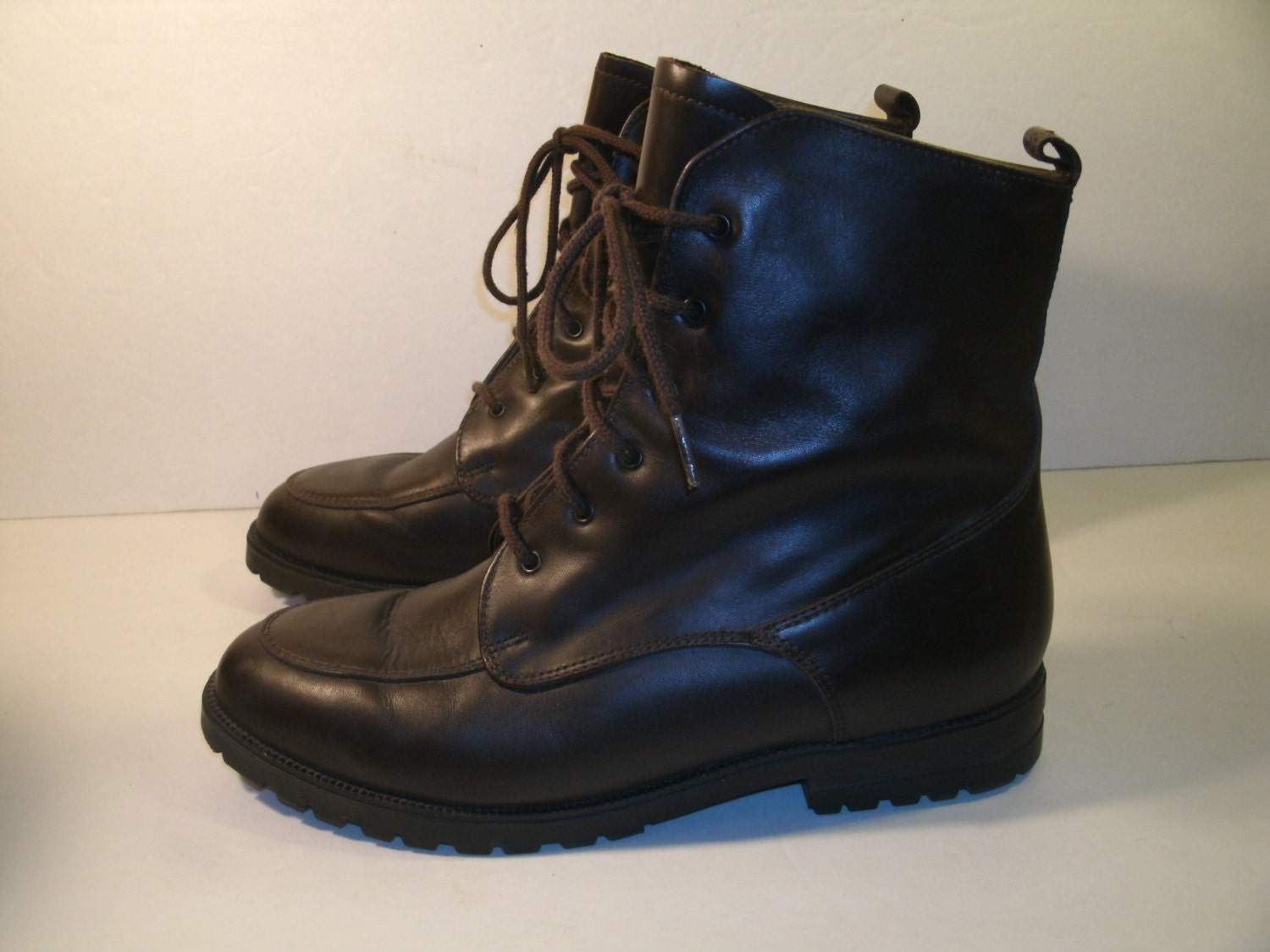 ll bean s boots size 9 brown soft leather 6