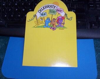 vintage kent moodies greeting card MOODIES CELEBRATE blank inside unused