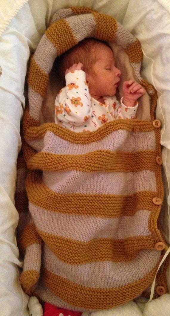 Baby Snuggle Bag Baby Bunting Blanket Bag Hooded Blanket