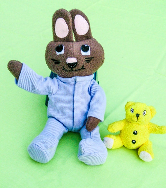 This baby bunny would make a great baby shower or nursery gift