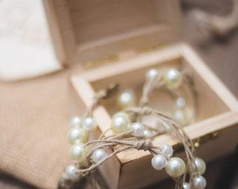Rustic Chic Bridesmaids Necklace