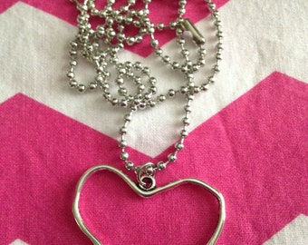 Large Heart Necklaces