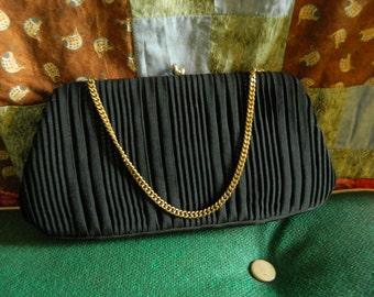 Vintage Harry Levine Designer Clutch Handbag 1950s  D711