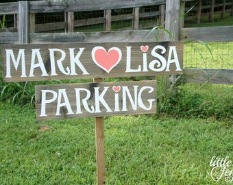 Rustic Wedding Sign, Wedding Parking Sign, Parking Sign, custom parking sign, wooden parking sign, no parking sign, wedding signage