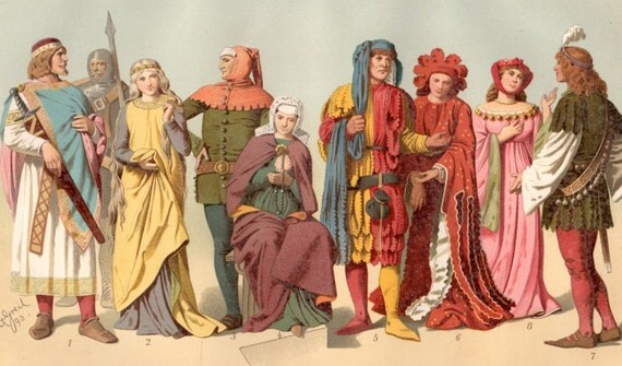 fashion in the middle ages essay Notes on real life for the upper classes in the middle ages copyright 1996 by   clothing, behavior, even language, were rigged so that the lower classes could  not masquerade as their betters dragging  to essay on medieval music.
