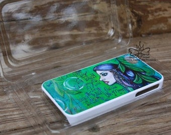 Fairy IPhone 5S Case, Cell Phone Cover - Fairy Wishes - Fairy Iphone Case - Fairy Fantasy Art - Fairy Phone Case -  Gifts for Girls