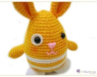 Ippopotamo Amigurumi Crochet : Uncinetto Amigurumi bambola di capelli ricci castani peluche