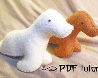 Sealion, felt sealion, sealion pattern, felt sealion pattern, felt sealion making pattern, felt animal, felt animal tutorial in a PDF file
