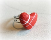 Romantic ring at heart  E...