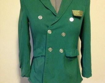 Green 1950s Blazer