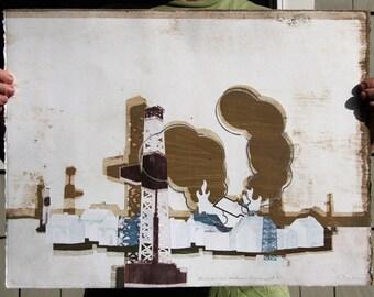 Neighborhood Methane Displacement