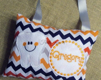 Tooth Fairy Pillow In Riley Blake Chevron
