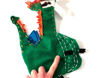 Green Glowie Monster Light-Up Plush Electronics & Sewing Kit