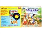 Vintage Snow White Disneyland Record Book