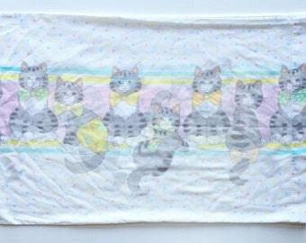 Vintage Cat Pillowcase