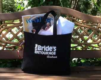 Bridesmaid Tote Bag, Bachelorette Bags, Bride's Bag, Personalized Bag, Wedding Day Tote Bags, Destination Wedding Bag, Girls Weekend Tote