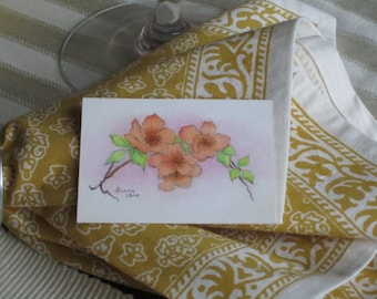 ACEO Original Drawing - Pastel With Colored Pencil - Roses