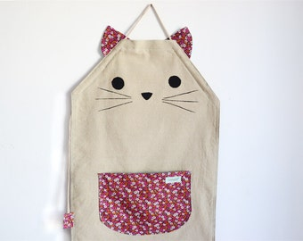 Personalized apron for cats lovers