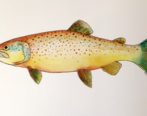 Popular items for trophy fish on Etsy