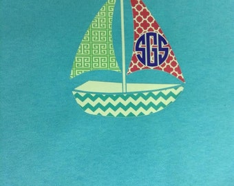 Preppy Sailboat T-Shirt