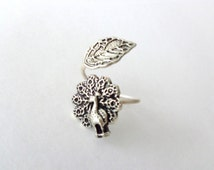 Popular Items For Peacock Ring On Etsy
