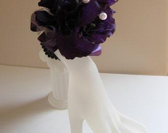 SALE! 40% OFF!    Pretty purple wrist corsage