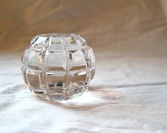 Cut Glass Paperweight