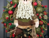 Bearded Camo Santa