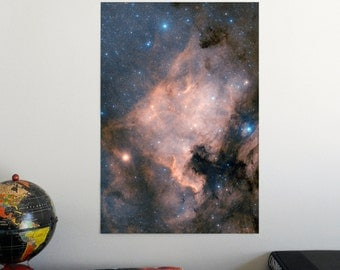 """The North America Nebula 19"""" x 13"""" Poster - Science Astronomy Wall Art Print- Window on the Universe series"""