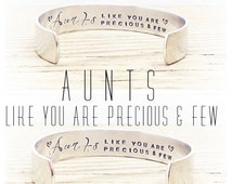 Aunt Gifts   Gifts for Her   Auntie Gift   Womens Gifts   Aunty Gift   Godmother Gift   Personalized Aunt Jewelry   Aunt Quotes by Glam&Co