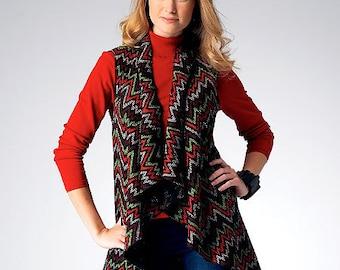 Kwik Sew Pattern. Misses  Misses' Vest  Misses Jacket   #K3977