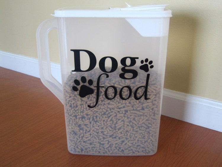 dog food decal pet food decal cat food decal by