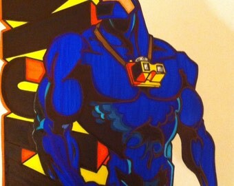 The Tick Comic Style Marker Print 11 x 14 in